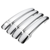 Chrome Door Handles Cover For Peugeot 08-10 207 308 407 Citroen C4 C6 C4 PICASSO