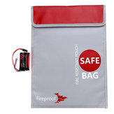 RC LiPo Battery Guard Charging Explosion Protection Fire Proof Safety Bag Case 38X27cm