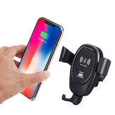 Carregador sem fio Bakeey Car Gravity Mount Qi para iPhone X 8 Plus iPhone XS Plus iPhone