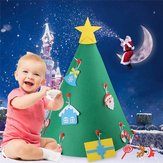 Christmas Hat Decoration Tree Handmade DIY Three-dimensional Christmas Gift