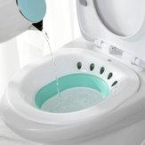 Складная тазобедренная ванна Ситц-ванна для туалета Геморрой Избегайте сидения на корточках