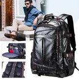 पुरुष महिला वाटरप्रूफ बैकपैक लैपटॉप स्कूल कंधे बैग यात्रा हैंडबैग रूकसाक