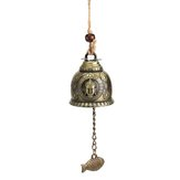 Exquisite Bell Blessing Feng Shui Wind Chime for Good Luck Fortune Home Car Hanging Decorations Gift Crafts
