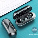 Bakeey B5 wireless bluetooth 5.0 TWS Fones de ouvido Fone de ouvido digital estéreo à prova d'água Música esportiva Fones de ouvido