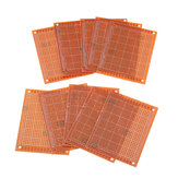 30pcs Universal PCB Board 7x9cm 2.54mm Hole Pitch DIY Prototype Paper Printed Circuit Board Panel Single Sided Board