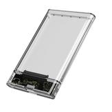 2,5-дюймовый жесткий диск SATA I / II/III Прозрачный жесткий диск USB3.0 / USB2.0 Жесткий диск Корпус для хранения Чехол