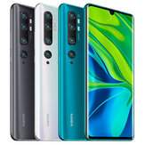Xiaomi Mi Note 10 Global Version 6.47 inch 3D Curved AMOLED 108MP Penta Camera 30W Fast Charge 6GB 128GB 4G Smartphone