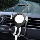 TOPK Metal Gravity Linkage Automatic serratura Air Vent Supporto per telefono per auto per 4.5-6.5 Pollici Smart Phone per iPhone per Samsung Xiaomi Redmi Note 8 Non originale