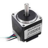 HANPOSE 11HS2810 28mm Nema 11 Stepper Motor 28BYGH28 1A 0.08N.m 4-lead for CNC Router