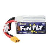 TATTU Funfly 14.8V 1550mAh 100C 4S XT60 Plug Lipo Battery do Emax HAWK 5 FPV Racing Drone