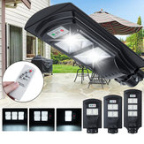 108/216/324 LED Solar Street Light PIR Motion Sensor Lamp Wall With Remote