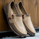 Slip On Shoes lavato da uomo Soft