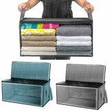 [Big Size] 3life Foldable Household Storage Bag Clothes Blankets Baskets Sweater Quilt Storage Box Organizer from