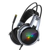 Somic E95-20 USB Virtual 7.1 игровые наушники Soft Гибкая стереофоническая вибрация Проводная гарнитура Уши с микрофоном и RGB Светодиодный