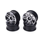 Aluminium Alloy 1.9inch Rc Car Wheel Hubs For 1/10 Drift Car Crawler Truck Axial Scx10 Trx4 Trx4 D9 Hpi Hsp Team Losi Hongnor Kyosho Tamiya LRP