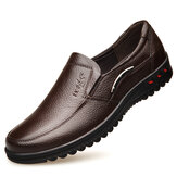 Men Non Slip Casual Leather Shoes