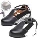 Sapatos de uso geral Cobrir sapatos de segurança de aço Toe Anti-Smashing Cover Sapatos de trabalho Capa de couro Non-Slip