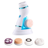 4 In 1 Sonic Facial Cleansing Brush Silicone Vibration Clean