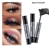 Music Flower Black Thick Double Brush Mascara Electric Eye F
