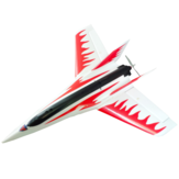 Stinger T750 750mm Lebar Sayap EPO Racing Delta Wing RC Airplane KIT Saja