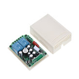 315MHz AC 220V 2 canales RF inalámbrico Control remoto Switch System Module para Smart Home