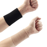 Black Skin Forearm Wrist Tattoo Cover Up Compression Sleeves Band Concealer