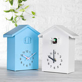 Cuckoo Quartz Wall Clock Modern Bird Home Living Room Hanging Watch Office Decor