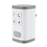 AC110-240V Plug-in Luftreiniger Ozongenerator Ionisator Reinigen Sie den industriellen Geruchsentferner Luftreiniger Negativer Ionengenerator für Allergien Rauchform Staubgeruch Haustiere