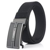 TUSHI 125x3,4 cm Tattico Cintura Nylon Cintura Vita fibbia in metallo a sgancio rapido Cintura