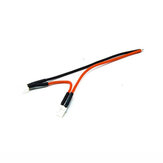 URUAV 2S PH2.0 Pigtail Solid Pin 20AWG 100 mm Solering Przewód zasilający do TRASHCAN Mobula7 Whoop FPV Racing Drone