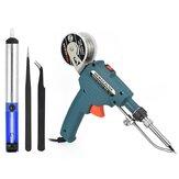 Elektrisch soldeer Tool Kit Tool Automatische toevoer met desoldeerpomp / pincet / tindraad