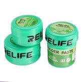 RELIFE Wysokiej jakości pasta lutownicza Topnik No-Clean Pasta lutownicza RL-400 401 402 Cyna lutownicza Sn63 / Pb67 20-38um Lutownica