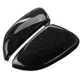 2Pcs Car Real Carbon Fiber Wing Mirror Cover For VW Golf 6 GTI R20 MK6 2008-2012