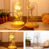 Enchanted Forever Rose Flower LED Veilleuse romantique Creative Holiday Gift Room Decor