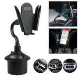 Universal Adjustable Gooseneck Cup Cradle Car Phone Holder For Cell Phone GPS