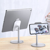 Floveme Aluminum Alloy Desktop Phone Holder Tablet Stand For 4.7-10.5 inch Smart Phone Tablet iPhone iPad Samsung