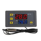 -50〜120℃LCDデジタル温度計温度センサー家庭用熱レギュレータコントローラーAC110-220V
