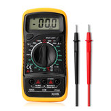 Digital Multimeter AC DC Current Voltage Resistance Meter Voltmeter Ammeter with Blue Backlight LCD