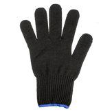 1 / 2Pcs Hitzebeständige Handschuhe Pro Curling Zangen Zauberstäbe Friseur Haarglätter Fingerhandschuhe