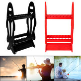 16 Fishing Rods Holder Storage Rack Pole Stand Rod Organizer Holds Tool
