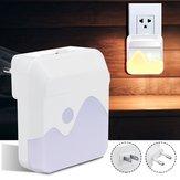 Capteur de lumière de nuit de la nuit de LED au capteur de l'aube se branchant dans la sécurité réglable AC110-240V de pépinière d'enfants