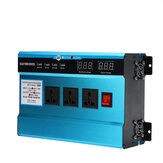 10000W Peak 4 USB Ports Digital Solar Power Inverter Vehicle Converter DC12V/24V/48V to AC220V