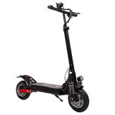 YUME YM-D5 52V 2400W Dual Motor 23.4Ah Folding Electric Scooter 65-70km/h Top Speed 80km Range Mileage 10inch Off-road Pneumatic Tire Max Load 200kg Scooter