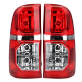 Car Left/Right Side Tail Light Brake Lamp Red with Harness For Toyota Hilux 2005-2015