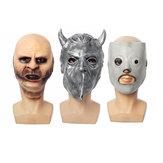 スリップノットジョーイマスクハロウィンパーティーホラー映画テーママスク怖いゴーストコスプレいたずら小道具用衣装カーニバルマスク