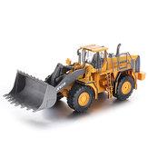 QY2302 1/28 2.4G 6CH RC Araba Buldozer Araç Modelleri Mühendisi Kamyon