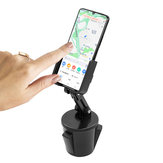 360° Rotation Universal Adjustable Cup Holder Car Phone Holder For Smart Phone for iPhone for Samsung Huawei