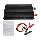 3000W Pure Sine Wave Power Inverter DC 12V to 220V AC Converter Car Caravan 60Hz Intelligent On-board Household