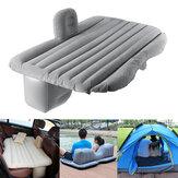 136x84x44cm materassi ad aria gonfiabili campeggio viaggio auto sedile posteriore sedile cuscino di riposo cuscino per dormire con pompa