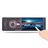 4042 4.1 İnç 1DIN Araba MP5 Çalar Dokunmatik Ekran Desteği AM FM Radyo RDS bluetooth USB TF ile Arabad Uzakdan Kumanda HD Yedekleme Kamera
